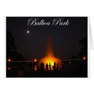 Balboa-Park 5 Karte