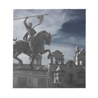Balboa-Park-Statue Notizblock