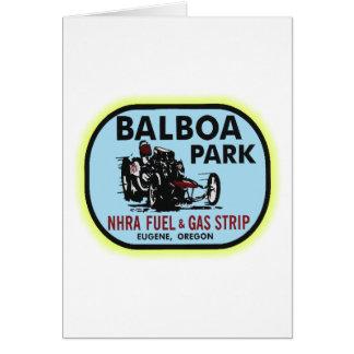 Balboa-Park-Widerstand-Streifen Karte