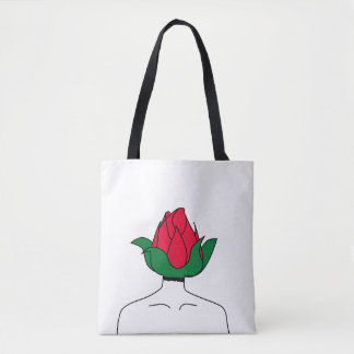 Bald zur Blüte Tasche