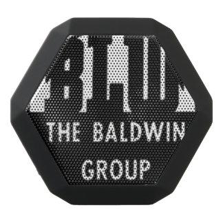 Baldwin Lokomotive bearbeitet Logo Schwarze Bluetooth Lautsprecher