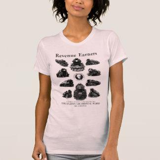 Baldwin Lokomotiven, Einkommens-Verdiener T-Shirt