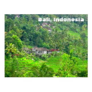 Bali, Indonesien Postkarte