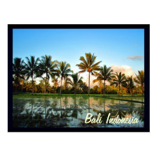 Bali Indonesien Postkarte