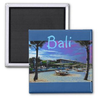 Bali Indonesien Quadratischer Magnet