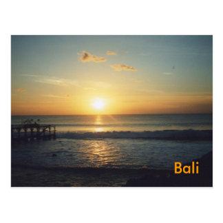 Bali-Postkarte Postkarte