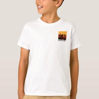 Bali-Strand-Junge - das T-Stück des Kindes T-Shirt