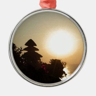 Bali-Tempel Silbernes Ornament