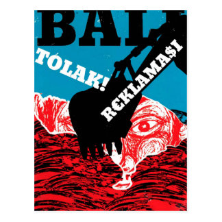 Bali Tolak Reklamasi Postkarte