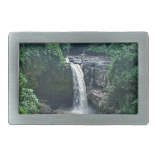 Bali-Wasserfälle Rechteckige Gürtelschnalle
