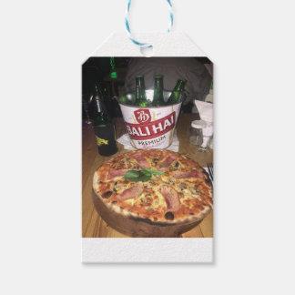 Balibier und -pizza geschenkanhänger