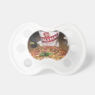 Balibier und -pizza schnuller