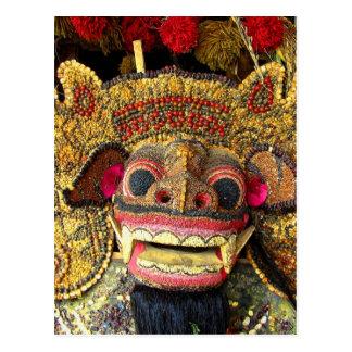 Balinese Barong 2 Postkarte
