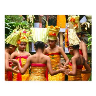 Balinese-Tempel-Widmungs-Festival Postkarte