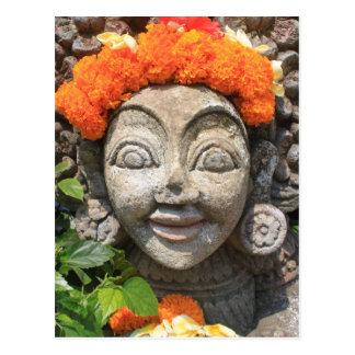 Balinesekunst Postkarte