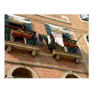 Balkone Postkarte
