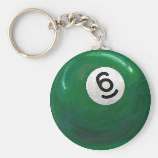 Ball 6 schlüsselanhänger