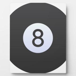 Ball 8 fotoplatte