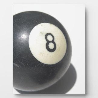 Ball acht fotoplatte