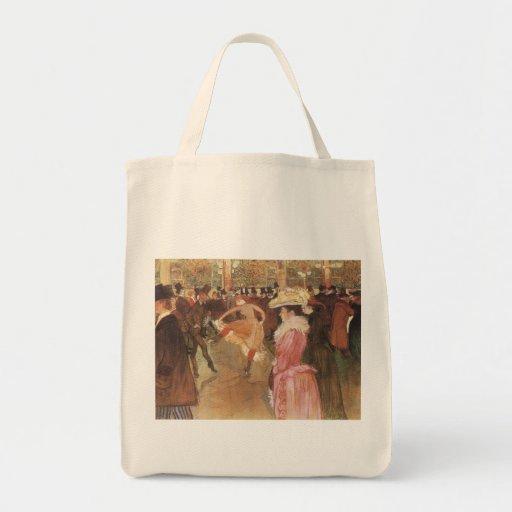 Ball beim Moulin Rouge durch Toulouse Lautrec Tasche