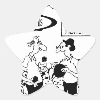 Ball-Cartoon 6241 Stern-Aufkleber