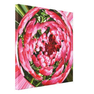 Ball der Tulpen Leinwanddruck