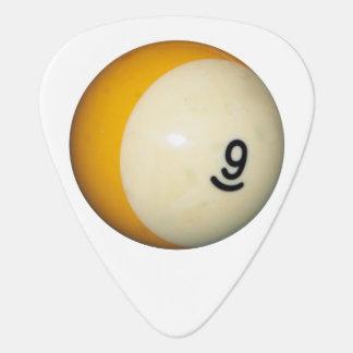 Ball des Billard-9 Plektrum