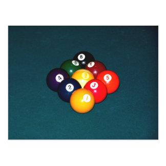 Ball des Billard-neun Postkarten