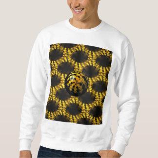 Ball des Fraktal-3d Sweatshirt