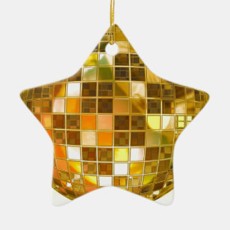 Ball-Disco-Ball-Sprungs-Tanz-Licht-Party-Disco Keramik Ornament
