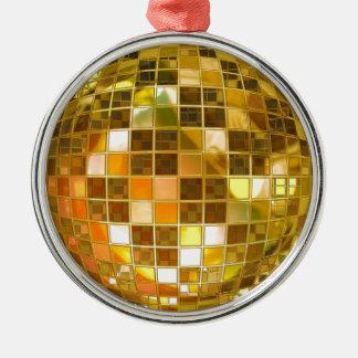 Ball-Disco-Ball-Sprungs-Tanz-Licht-Party-Disco Silbernes Ornament