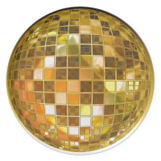 Ball-Disco-Ball-Sprungs-Tanz-Licht-Party-Disco Teller