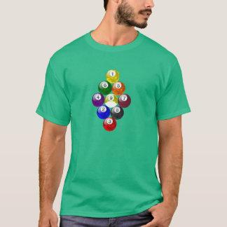 Ball-Gestell-T-Stück der Camouflage-Ausgaben-neun T-Shirt