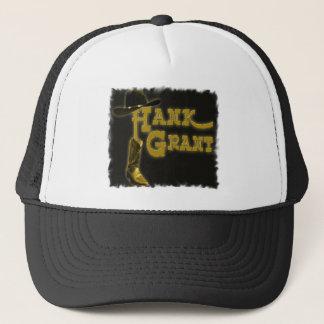 Ball-Kappe Hank Grant mit schwarzem Logo Truckerkappe