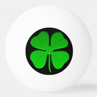 Ball pong Klingeln des Klees 4leaf Ping-Pong Ball