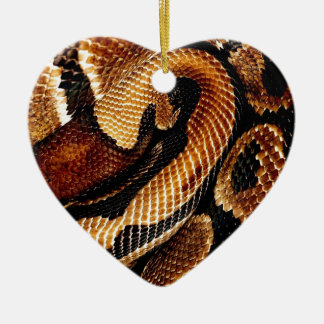 Ball-Pythonschlange Keramik Ornament
