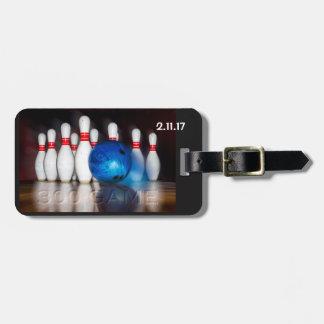 Ball und Buttone des Spiel-300 Kofferanhänger