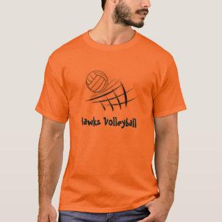 Ball und Netz, Falke-Volleyball T-Shirt