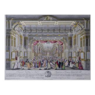Ball, welche der Krönung von Leopold folgt Postkarte
