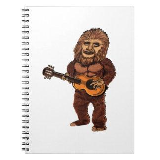 Ballade von Bigfoot Notizblock