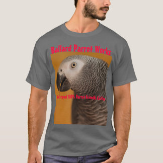 Ballard Papagei bearbeitet T-Stück T-Shirt
