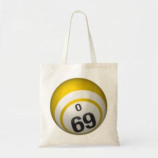 Ballbudget-Taschentasche des Bingo O69 Budget Stoffbeutel