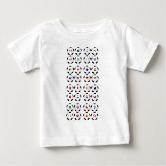Bälle mit Flaggen Baby T-shirt