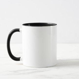 Bälle zur Wand-Schwarzes eingefaßten Tasse