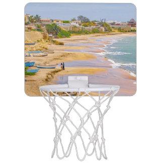 Ballenita Strand Sankt Elena Ecuador Mini Basketball Ring