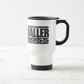 BALLER CHEF - Gangster-Ausdauer führt Erfolg 2 Edelstahl Thermotasse