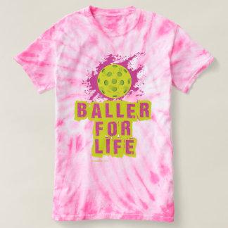 """Baller für das Leben"" Pickleball Shirt"