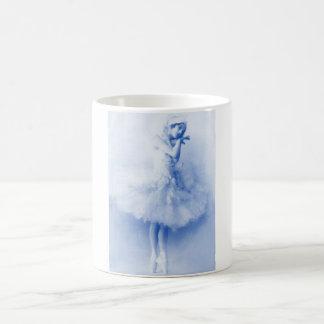 Ballerina Anna Pavlova, Blau, Vintag, Foto Kaffeetasse
