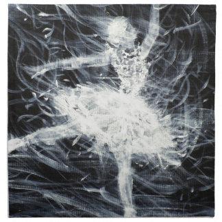 Ballerina - Januar 18,2013.JPG Stoffserviette