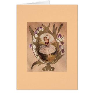 Ballerina Karte